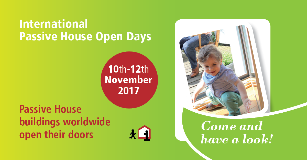 OPEN DAYS 2017  PassivHaus  - 10/12 Novembre 2017